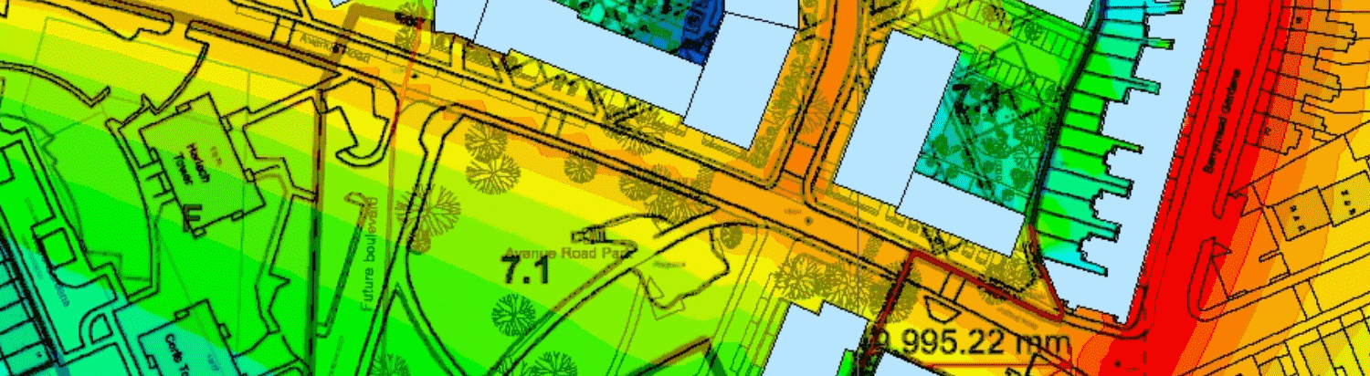 Image of Road Traffic Noise Map